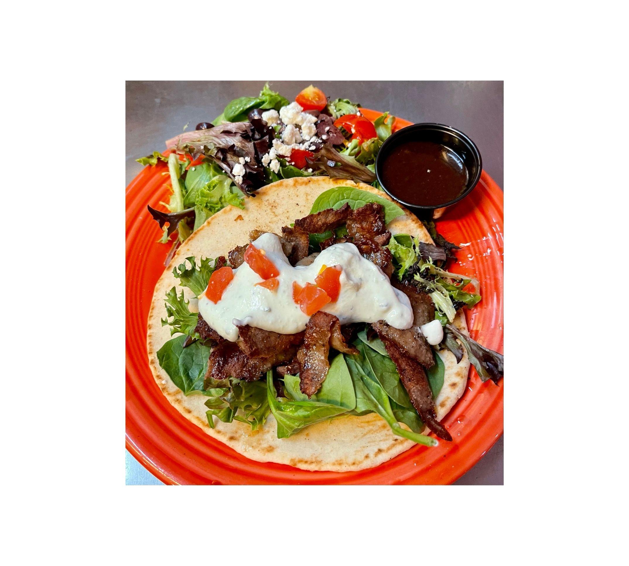 Gyros Dish -Caffe Greco Santa Fe